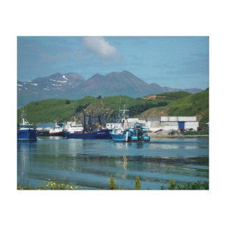 Eastern Channel, Dutch Harbor, AK Canvas Print