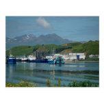 Eastern Channel, Dutch Harbour, AK Postcards