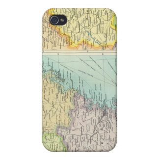 Eastern China political map iPhone 4/4S Case