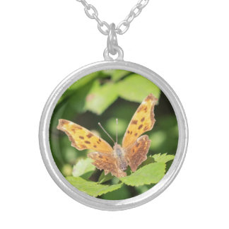 Eastern Comma Silver Plated Necklace