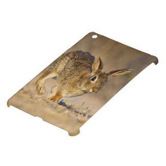 Eastern cottontail rabbit hopping case for the iPad mini