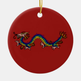 Eastern Dragon Christmas Ornament