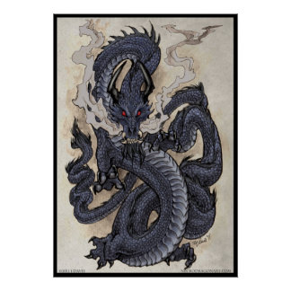 Eastern Dragon Poster