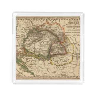 Eastern Europe Acrylic Tray