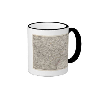 Eastern Europe, Central Russia Coffee Mugs