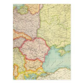 Eastern Europe communications Postcard
