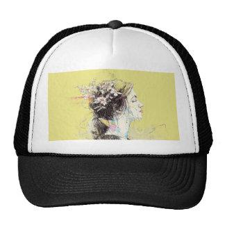 Eastern Europe Girl - Prague Trucker Hats