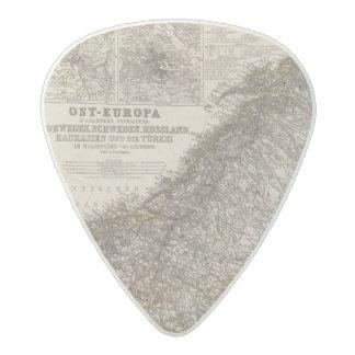Eastern Europe, Norway Acetal Guitar Pick