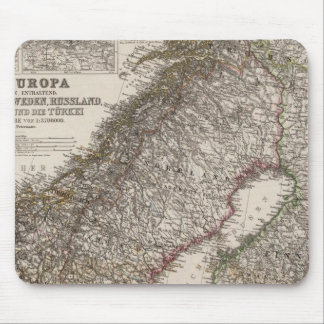 Eastern Europe, Norway Mouse Mat