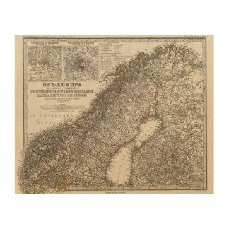 Eastern Europe, Norway Wood Print