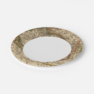 Eastern Europe 7 Inch Paper Plate