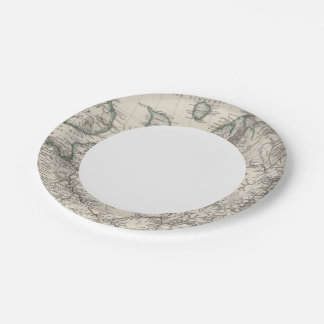 Eastern Europe, Russia 7 Inch Paper Plate