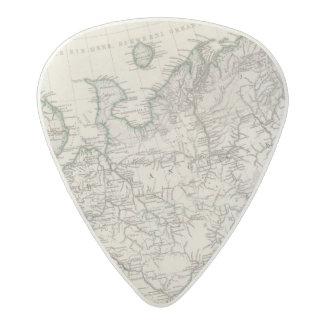 Eastern Europe, Russia Acetal Guitar Pick