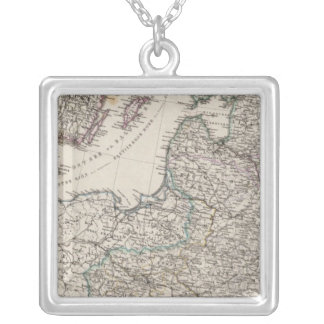 Eastern Europe, Russia, Sweden Silver Plated Necklace