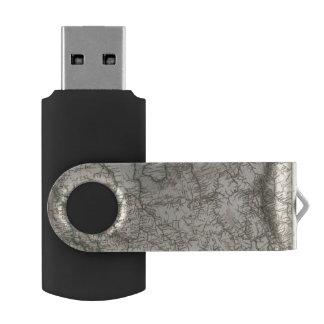 Eastern Europe, Russia Swivel USB 2.0 Flash Drive