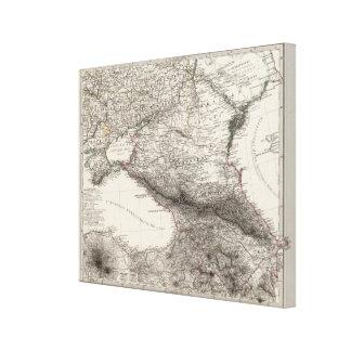 Eastern Europe, Russia, Turkey Canvas Print