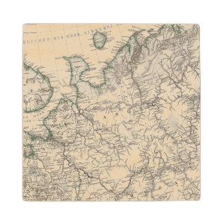 Eastern Europe, Russia Wood Coaster