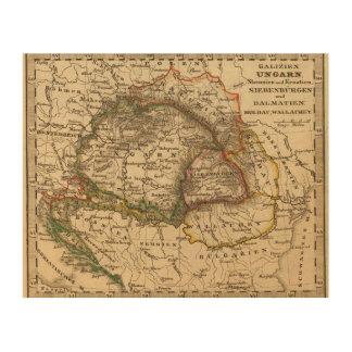 Eastern Europe Wood Print