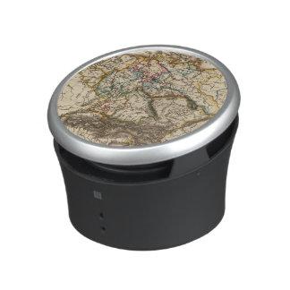 Eastern European Map Bluetooth Speaker