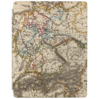 Eastern European Map iPad Cover