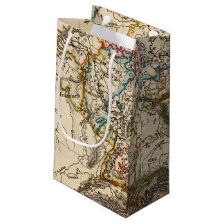 Eastern European Map Small Gift Bag