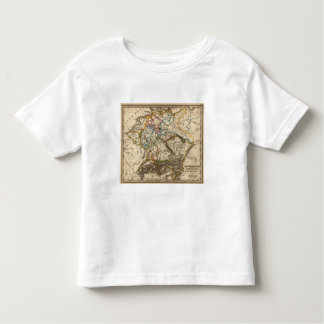 Eastern European Map Toddler T-Shirt