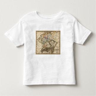 Eastern European Map Tee Shirt