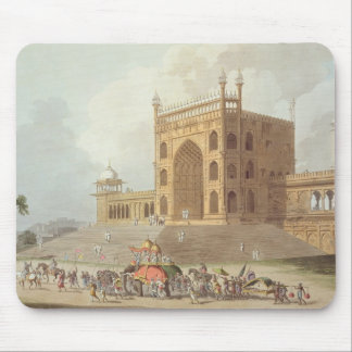 Eastern Gate of the Jummah Musjid at Delhi, from ' Mouse Pad