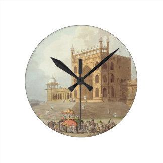 Eastern Gate of the Jummah Musjid at Delhi, from ' Round Clock