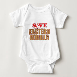 Eastern Gorilla Save Baby Bodysuit