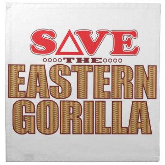Eastern Gorilla Save Napkin
