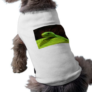 Eastern Green Mamba Dendroaspis Angusticeps Doggie T Shirt