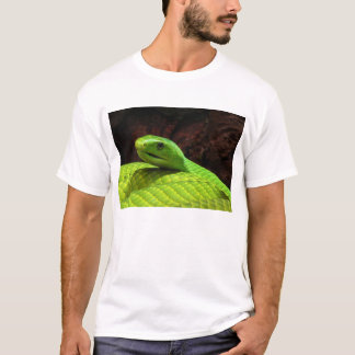 Eastern Green Mamba Dendroaspis Angusticeps T-Shirt