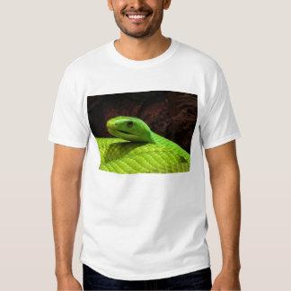 Eastern Green Mamba Dendroaspis Angusticeps Tee Shirt