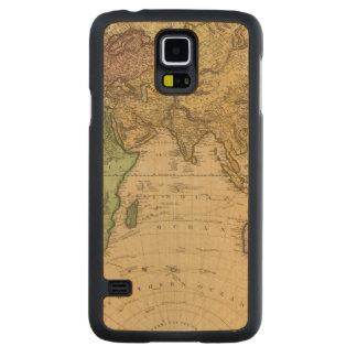 Eastern Hemisphere 10 Carved Maple Galaxy S5 Case