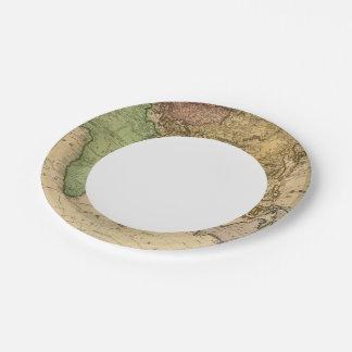 Eastern Hemisphere 10 Paper Plate