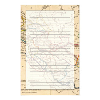 Eastern Hemisphere 11 2 Customized Stationery