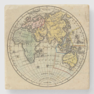 Eastern Hemisphere 11 2 Stone Coaster