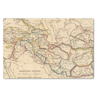 Eastern Hemisphere 11 2 Tissue Paper