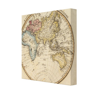 Eastern Hemisphere 11 Canvas Print