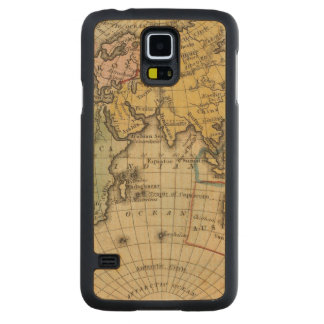 Eastern Hemisphere 11 Carved Maple Galaxy S5 Case