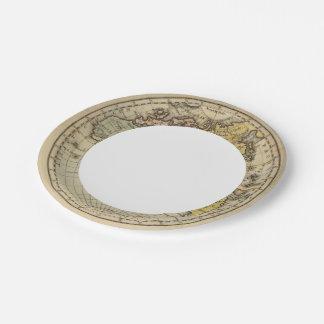 Eastern Hemisphere 11 Paper Plate