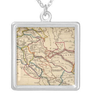 Eastern Hemisphere 11 Silver Plated Necklace