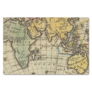 Eastern Hemisphere 11 Tissue Paper