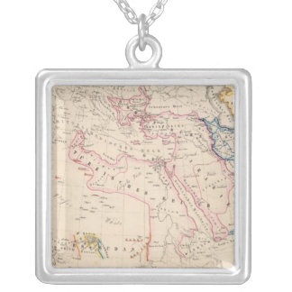 Eastern Hemisphere 12 Silver Plated Necklace