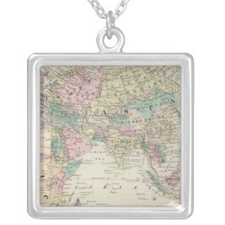 Eastern Hemisphere 14 Silver Plated Necklace