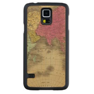 Eastern Hemisphere 15 2 Carved Maple Galaxy S5 Case