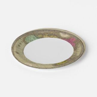 Eastern Hemisphere 15 2 Paper Plate