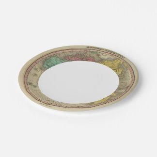 Eastern Hemisphere 15 Paper Plate