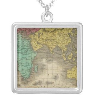 Eastern Hemisphere 15 Silver Plated Necklace